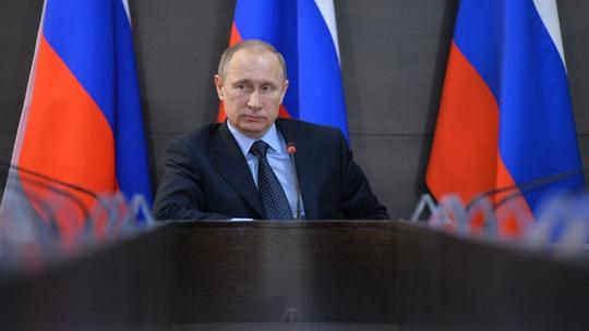 Tổng thống Nga Vladimir Putin cáo buộc Mỹ ủng hộ quân ly khai Bắc Caucasus. Ảnh: RIA Novosti