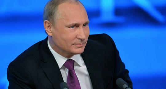 Tổng thống Vladimir Putin thừa nhận lệnh trừng phạt của phương Tây khiến đất nước của ông thiệt hại khoảng 160 tỉ USD. Ảnh: Sputnik News