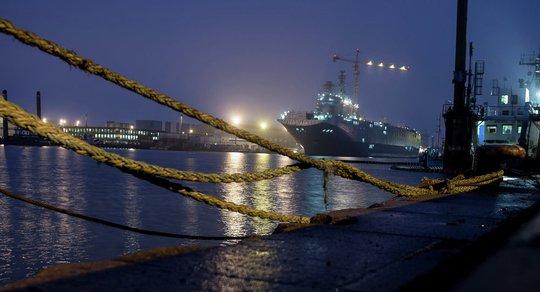 Pháp đang xem xét bán tàu Mistral cho Trung Quốc. Ảnh: Sputnik