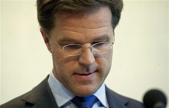Thủ tướng Hà Lan Mark Rutte. Ảnh: EPA