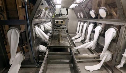 Phòng thí nghiệm tại căn cứ Dugway Proving Ground. Ảnh: AP