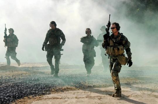 Thành viên đơn vị SEAL Team 6 của Mỹ. Ảnh: U.S. Navy