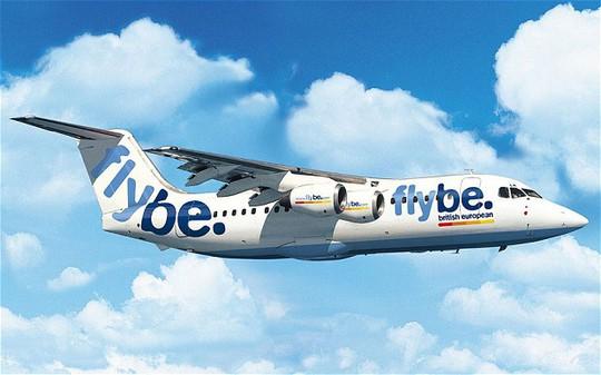 Một chiếc máy bay của hãng hàng không Flybe. Ảnh: Telegraph