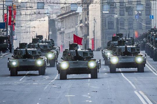 Siêu tăng T-14 Armata sẽ xuất hiện tại triển lãm Quân đội 2015. Ảnh: AP