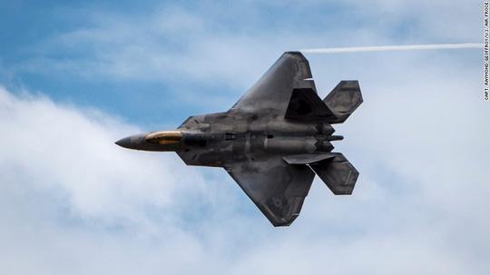 Máy bay F-22 Raptor của Mỹ. Ảnh: CNN