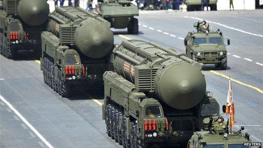 NATO lên án Nga mở rộng kho vũ khí hạt nhân. Ảnh: Reuters