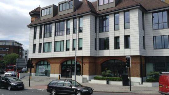 Trụ sở trang web notonthehighstreet.com ở Richmond. Ảnh: BBC
