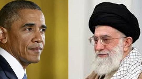 Tổng thống Barack Obama (trái) và lãnh đạo tối cao Ayatollah Ali Khamenei từng trao đổi thư từ qua lại. Ảnh: Reuters