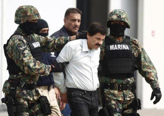 Guzman bị bắt năm 2014. Ảnh: Reuters