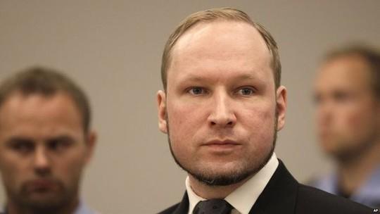 Anders Behring Breivik. Ảnh: AP