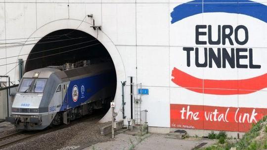 Đường hầm eo biển Manche do Công ty Eurotunnel quản lý. Ảnh: BBC