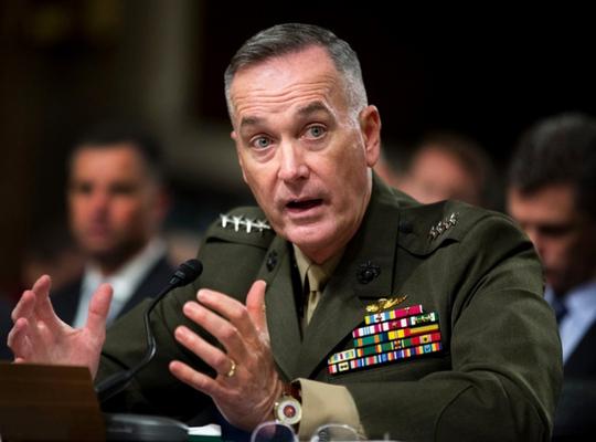 Tướng Joseph Dunford. Ảnh: AP