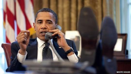 Tổng thống Obama yêu cầu các nhà khoa học Mỹ chế tạo siêu máy tính. Ảnh: WHITE HOUSE