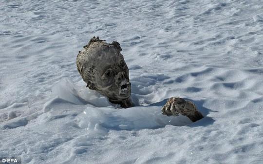 Discovery: The bodies were found near the peak of Mexico highest mountain Pico de Orizaba