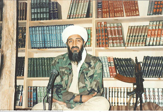 Perception: The militant would sit in front of Islamic books when recording his video messages to make it seem like he was intellectual