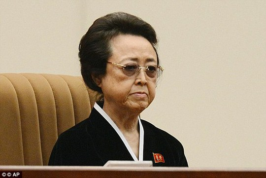 Executions: A defector has claimed North Korean leader Kim Jong-un ordered his aunt Kim Kyong Hui (pictured) to be poisoned