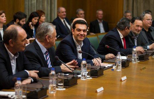 """Ông Tsipras cho biết nước này sẽ tìm kiếm một thỏa thuận """"công bằng, đôi bên cùng có lợi"""" với các nhà cho vay thuộc &EU. Ảnh: Reuters"""