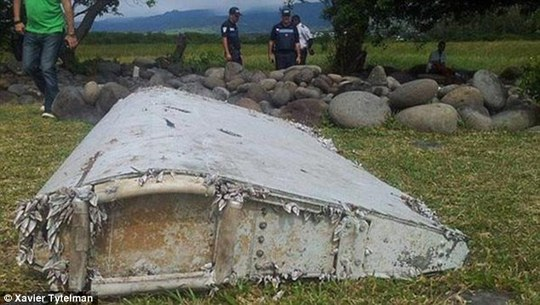 This piece of debris, found in the coastal area of Saint-Andre de la Reunion, has sparked excitement, curiosity and dread in equal measure as investigators believe it may be the same model as downed flight MH370