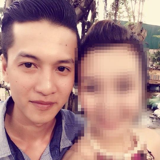 Dương cùng người yêu cũ Linh. Gã nghi can thừa nhận chủ mưu sát hại 6 người trong đó có cả Linh