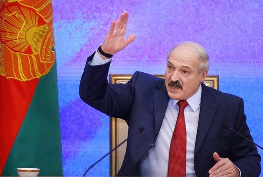 Tổng thống Belarus Alexander Lukashenko. Ảnh: AP