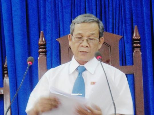 Thẩm pháp Nguyễn Phi Đô, chủ tọa phiên tòa tuyên án