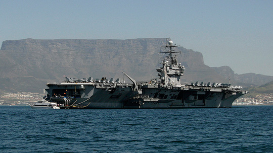 USS Theodore Roosevelt (Reuters / Mark Wessels)