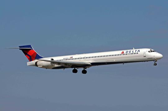 Một chiếc máy bay của Delta Airlines. Ảnh: Skyscrapercity