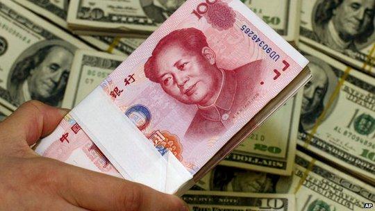 Mức tăng trưởng 7,4% do Trung Quốc công bố vẫn cao hơn mức dự báo 7,2% được các chuyên gia kinh tế tham gia khảo sát của Bloomberg đưa ra trước đó. Ảnh: AP