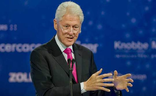 Bill Clinton Will Keep Giving Speeches to Pay Our Bills
