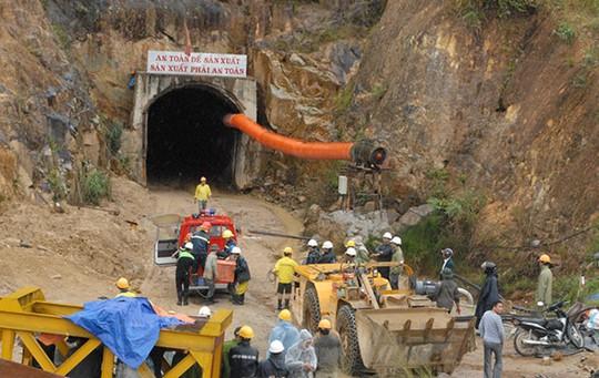 Đường hầm nơi xảy ra sự cố khiến 12 công nhân mắc kẹt bên trong