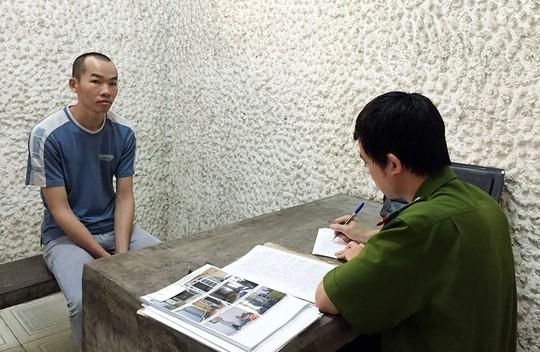 Huỳnh Hữu Hạnh tại cơ quan điều tra