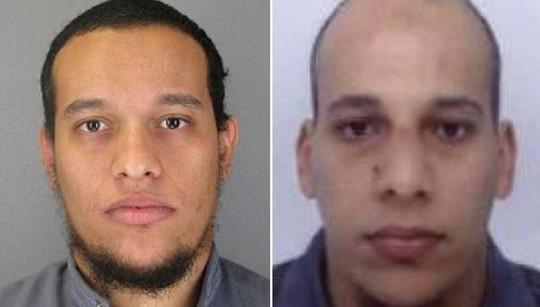 Anh em Kouachi: Cherif (trái) và Said (phải)