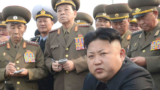 The Obama administration says the sanctions are in response to provocations and threats by North Korea, led by Kim Jong-un - particularly the cyberattack on Sony.