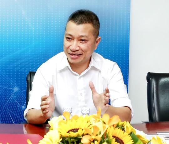 Ông Trần Kinh Doanh, Tổng giám đốc TGDĐ: Bán thực phẩm hay di động, điện máy, thì cũng là kinh doanh bán lẻ, mang các giá trị phục vụ tốt nhất đến người tiêu dùng. Ảnh:Việt Dũng.