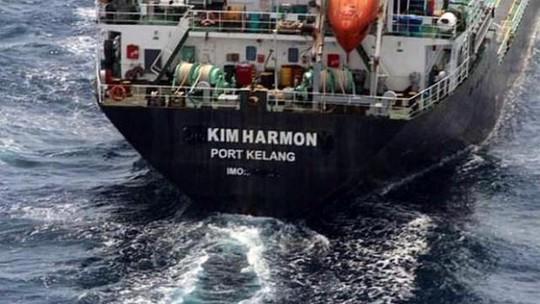 Con tàu đã bị đổi tên thành Kim Harmon. Ảnh: Hải quân Hoàng gia Malaysia