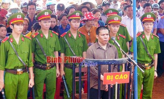 Phạm Văn Anh tại phiên tòa