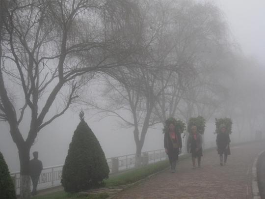 Mùa đông ở xứ sương mù