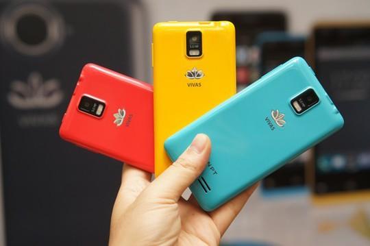 VIVAS Lotus S2 - chiếc smartphone được lắp ráp tại Việt Nam.