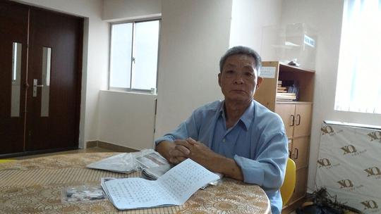 Ông Lâm Đường mang bệnh nặng nhưng không có tiền chữa trị
