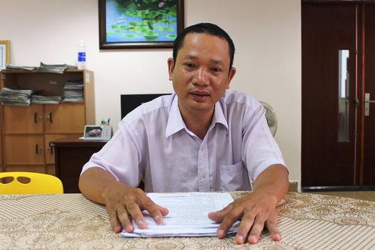 Ông Nguyễn Hoàng Dũng, con của bà Trọn, bức xúc trước việc UBND quận 2, TP HCM chậm chi tiền bồi thường thu hồi nhà, đất