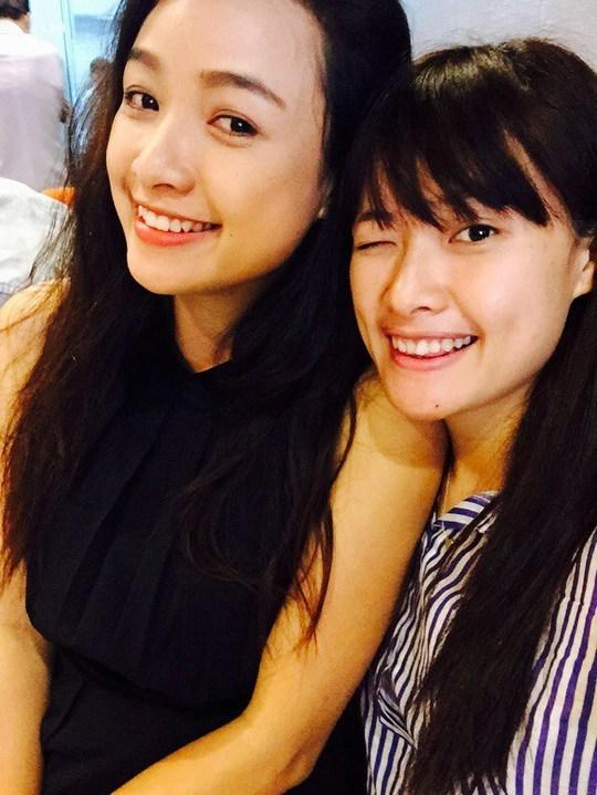 Lê Chi Na và chị gái Lê Bê La