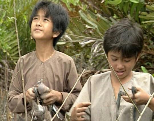 An và Cò của phim Đất Phương Nam. Ảnh: Internet
