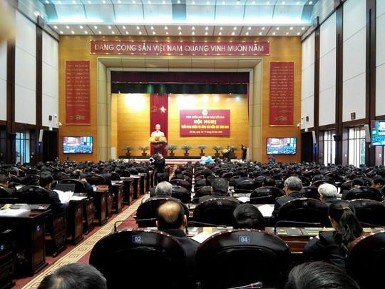Hội nghị triển khai công tác năm của Viện kiểm sát nhân dân tối cao