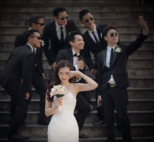 Người mẫu Trúc Diễm đẹp lộng lẫy trong ảnh cưới