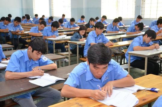 Sinh viên Trường CĐ Kỹ thuật Cao Thắng (TP HCM) trong một giờ học Ảnh: TẤN THẠNH