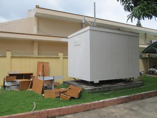 Một trạm quan trắc không khí tự động đã ngưng hoạt động từ năm 2009