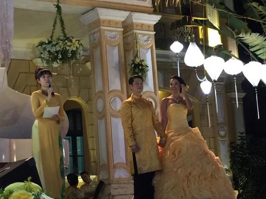 Lễ cưới mới đây tại TP HCM. Ảnh: facebook nghệ sĩ