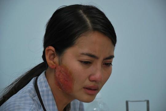 Ngọc Lan trong phim Mặn hơn muối- một phim truyền hình đang được kỳ vọng với nội dung nói về cuộc sống của những diêm dân