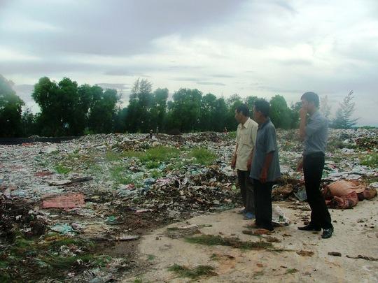 Bãi rác Hoàng Hoa gây ô nhiễm môi trường nghiêm trọng