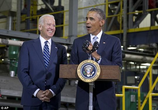Hai ông Obama và Biden đều vắng mặt... Ảnh: AP